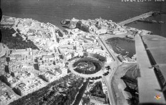 Vista aérea de Melilla