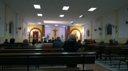 Últimas misas en la parroquia