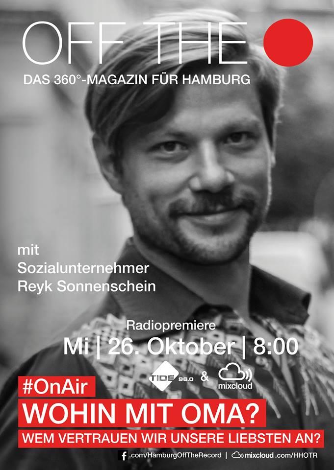 HHOTR Off The Record Podcast Hamburg Magazin