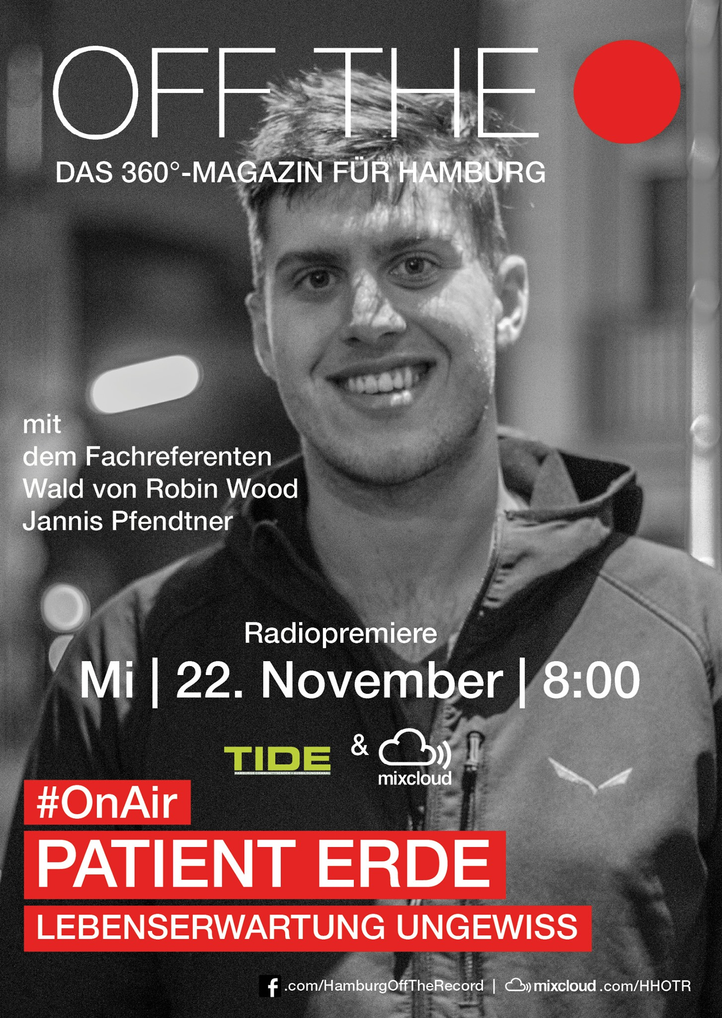Off The Record OnAir #16 Patient Erde mit Jannis Pfendtner