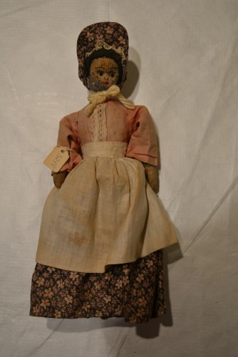 A Homemade American Girl Doll that belonged to Gertrude Van Order DuBois
