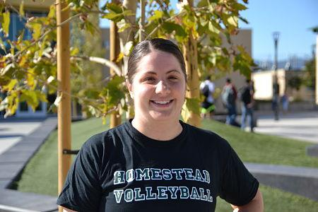 Brooke Chan has played volleyball for most of her life and has coached at a high level for 10 years.