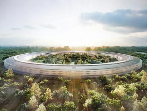 In construction: Apple Campus 2