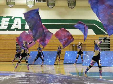 Winter Percussion Guard Show