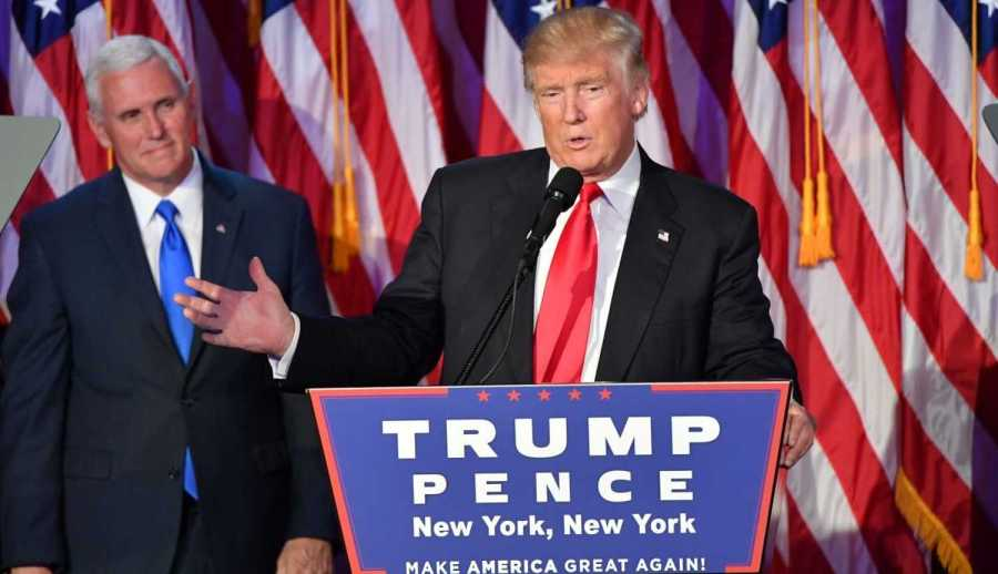 Trump+delivers+his+victory+speech+early+Wednesday+morning.+Photo+courtesy+of+the+Washington+Post.