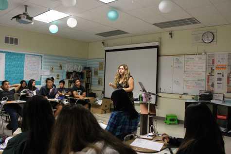 English department welcomes new teacher