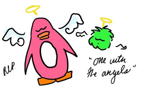 A Club Penguin Childhood