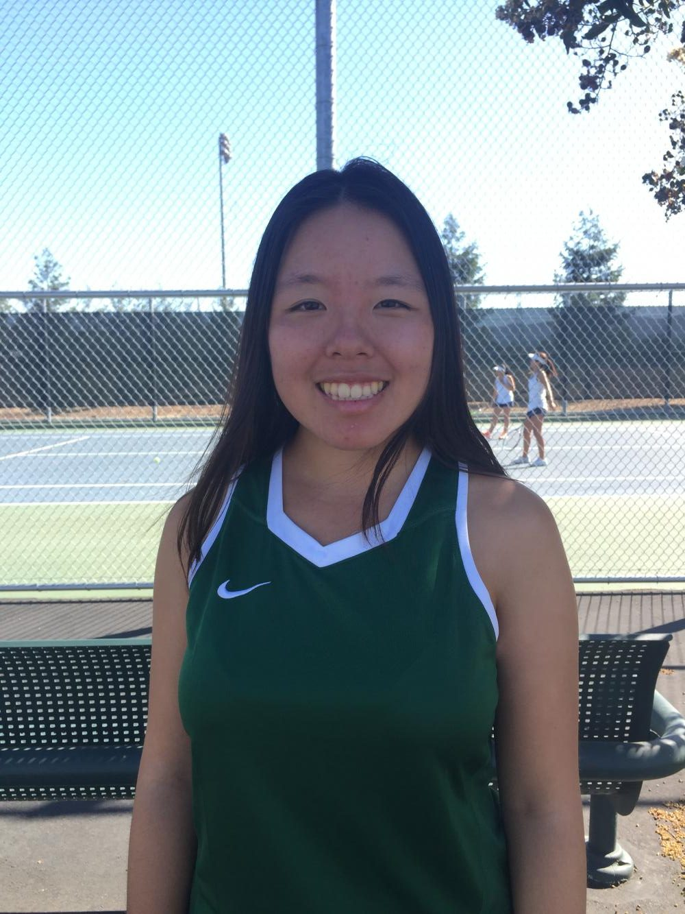 Mary+Wang%2C+varsity+tennis+co-captain+whose+goal+for+this+year+is+to+see+her+team+succeed+this+season.+She+communicates+that+many+girls+on+the+team+practice+after+the+daily+two+hour+practice+and+on+weekends+as+well.+Wang+says+that+tennis+has+been+present+in+her+life+ever+since+she+was+eight+years+old.+%0AWang+says+that+a+common+misconception+about+tennis+is+that+it+is+often+not+recognized+as+a+sport+or+that+it+is+really+easy+to+play.+Wang+disagrees+with+this+sentiment%2C+saying+that+%E2%80%9Ctennis+is+a+really+challenging+sport+and+whether+you+play+singles+or+doubles+each+person+needs+to+have+a+certain+mental+mindset+that+is+very+difficult+to+achieve.%E2%80%9D%0AShe+hopes+that+tennis+will+remain+in+her+life%2C+possibly+as+an+intramural+sport+in+high+school.%0A
