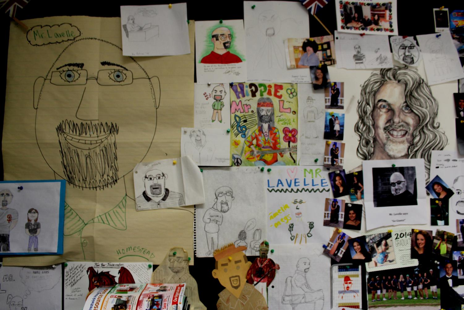 %E2%80%9CI+have+a+lot+of+personal+mementos+up+on+this+wall.+Kids+have+made+different+caricatures+of+me+over+the+years.+It+started+my+first+year+here+at+Homestead%2C+and+the+kids+have+always+had+fun+drawing+me.+I+have+a+nice%2C+round%2C+bald+head%2C+so+it+must+be+easy.%E2%80%9D+-Steve+Lavelle