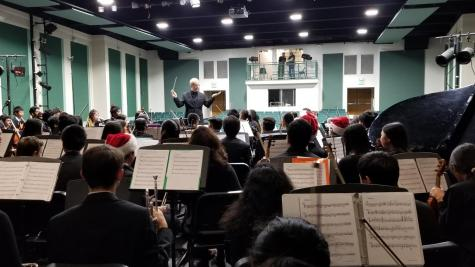 Orchestra students reveal secrets to a successful performance