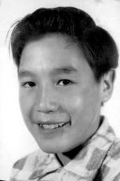A young Larry Takamatsu (Vera Mattson Family Collection)