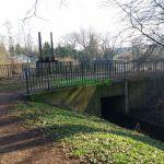 Wehr und Brücke über den Raakmoorgraben