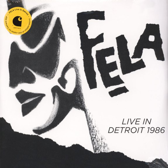 Cover Fela Kuti - Live in Detroit 1986 - Special Edition Vinyl