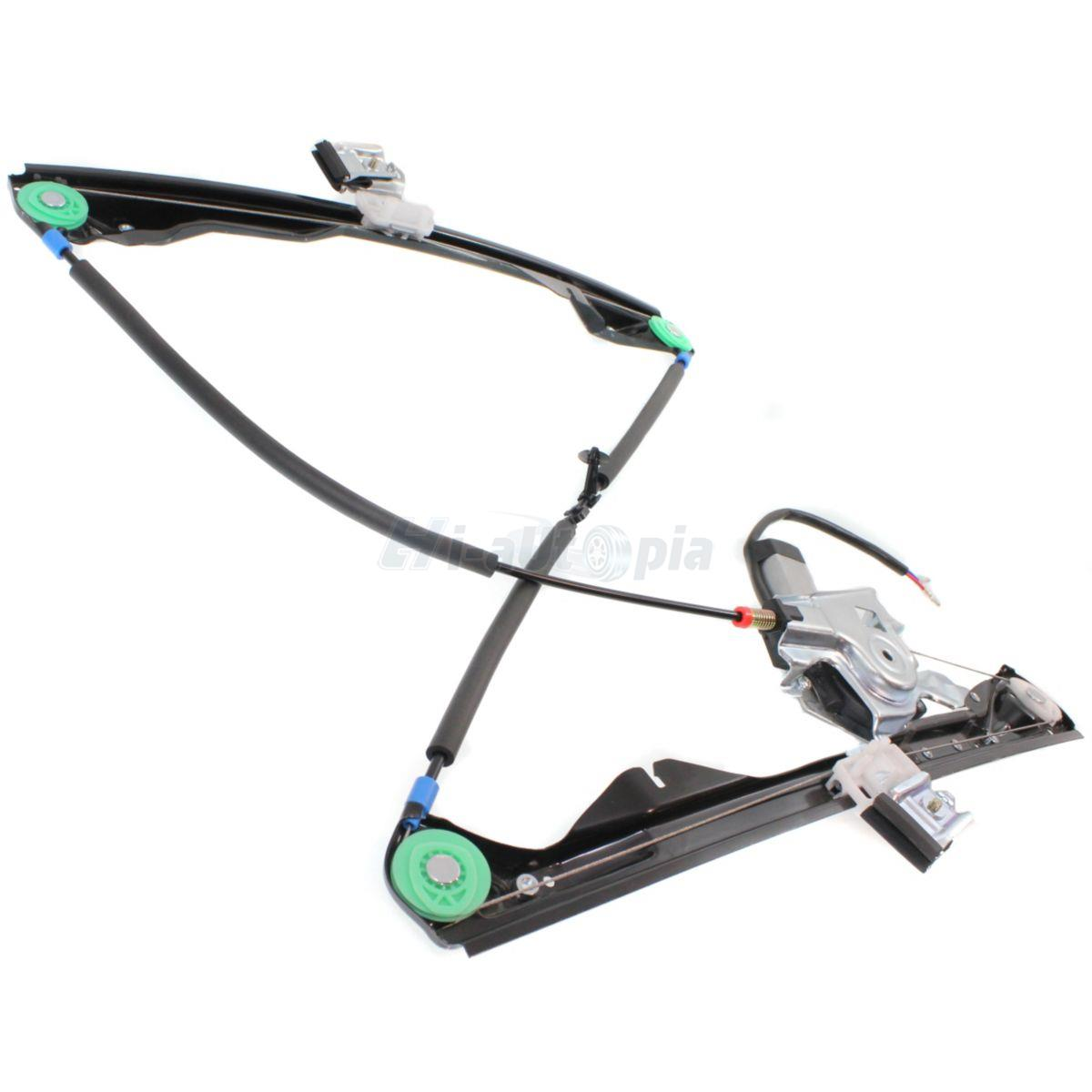 Power Window Regulator With Motor Front Left Driver Side For 00 07 Ford Focus