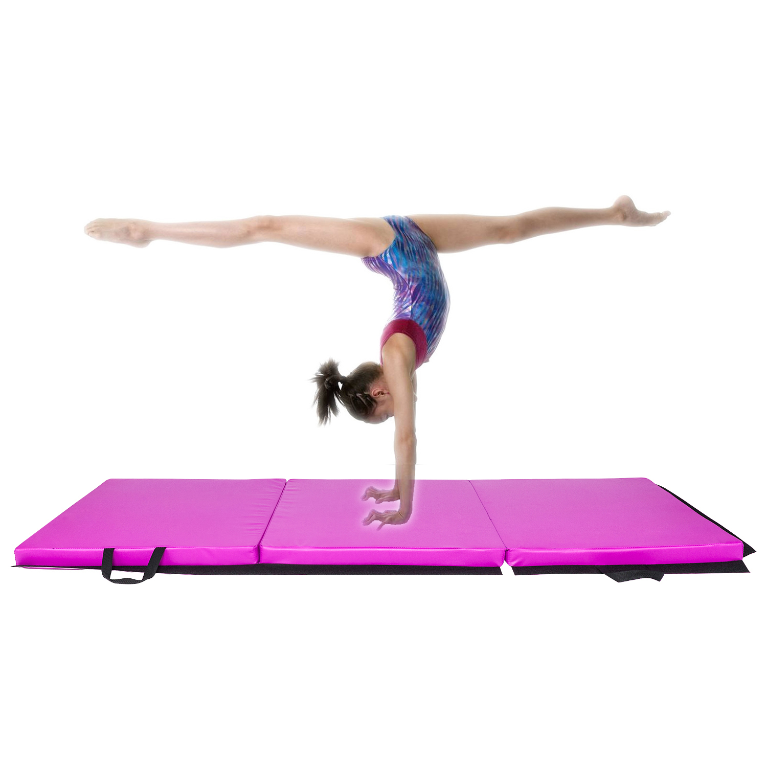 Foldable 6 X2 Gymnastic Mat Exercise Yoga Pad Non Slip
