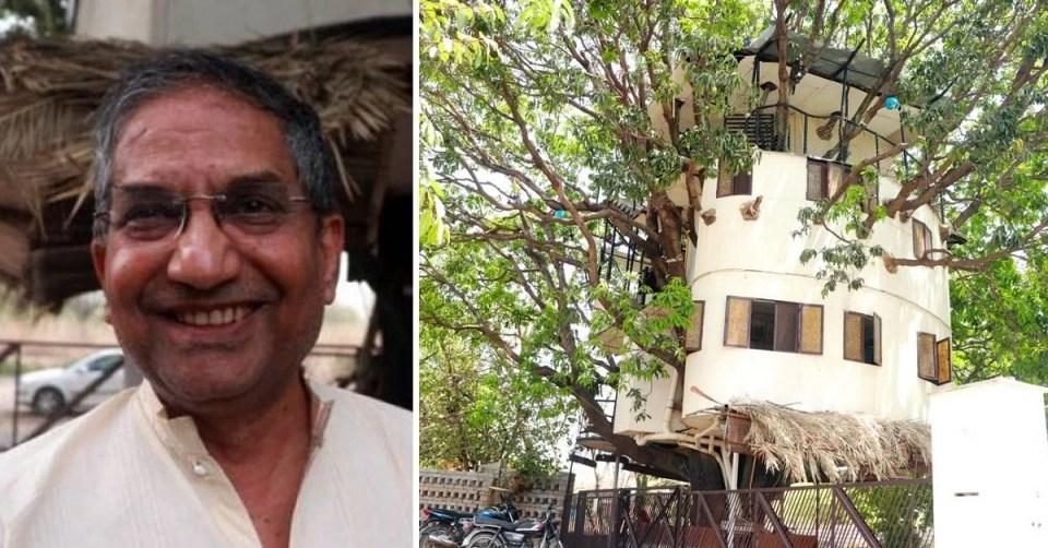 Iit Engineer Built Treehouse