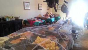 Comidinha da fazenda no Café da Colônia