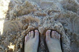 Pé na areia faz parte do melhor trabalho do mundo