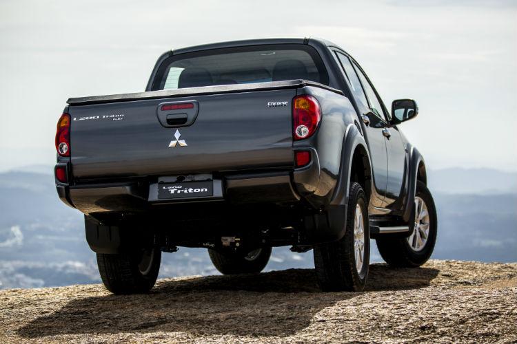 Mitsubishi L 200 Triton  HLS Chrome Edition / Foto: Murilo Mattos