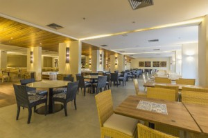 Restaurante do Celebration Resort em Olímpia, SP