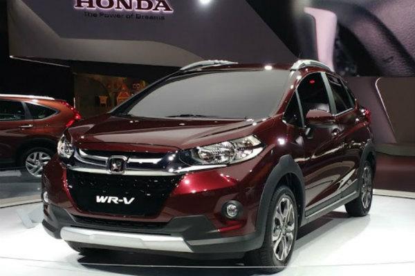 O SUV compacto da Honda, WR-V