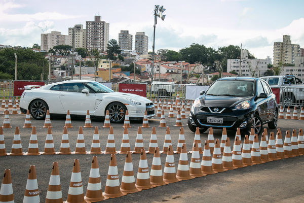 Área para test drives