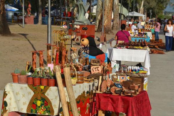 Feira de artesãos (Foto: WelcomeArgentina)