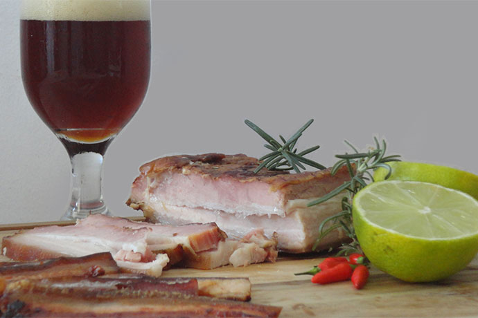 Beer Bacon Day, no Biergarten Santo Lúpulo