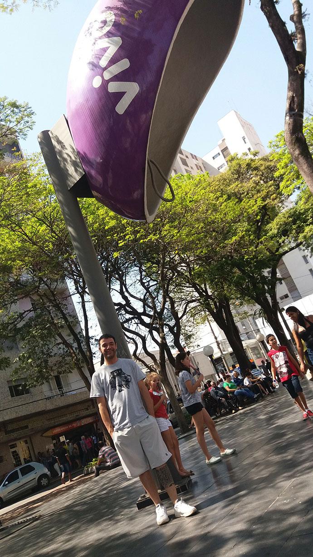 Orelhão gigante de Itu