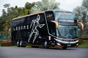 Ônibus da Levare tem poltrona que faz massagem