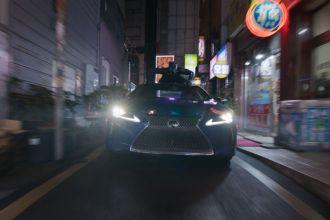 Lexus LC 500, o cupê futurista do Pantera Negra