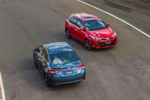 Toyota Yaris traz segurança e bom desempenho