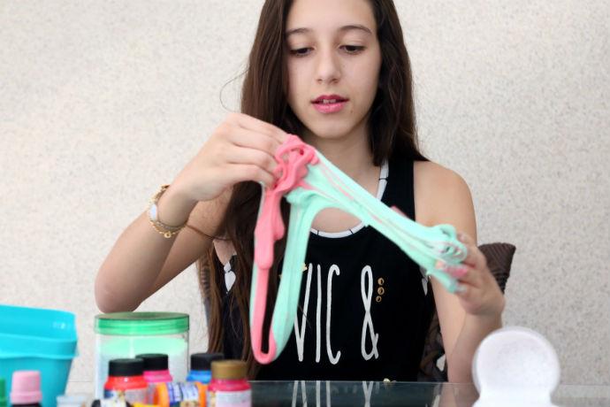 Riopreto Shopping faz oficina de slime