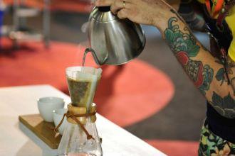 Semana do Café, em Belho Horizonte, MG (Foto: Vitor Macedo)