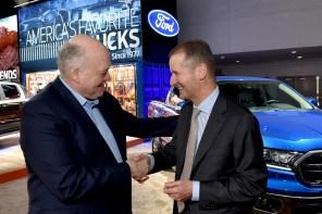 VW e Ford se unem para produzir picapes e vans