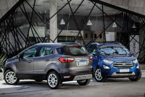 Ford EcoSport consegue rodar com pneu furado