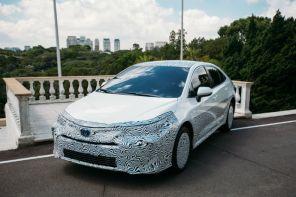 Novo Corolla é o 1º carro híbrido flex do mundo