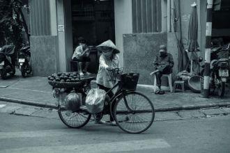 Exposição Retrospectiva reúne imagens de diversos lugares, como o Vietnã (Foto: Sylvia Cury)