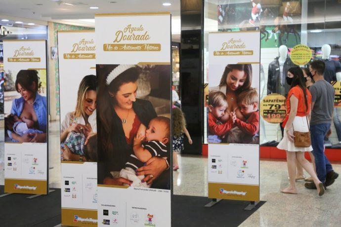 Evento Agosto Dourado, no Riopreto Shopping (Foto: Ricardo Boni)