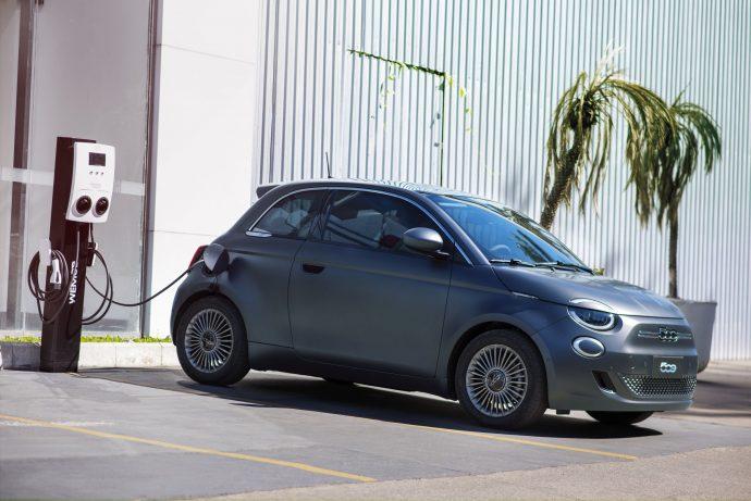 Fiat 500e no Brasil