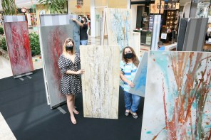 Exposições oferecem conscientização e arte