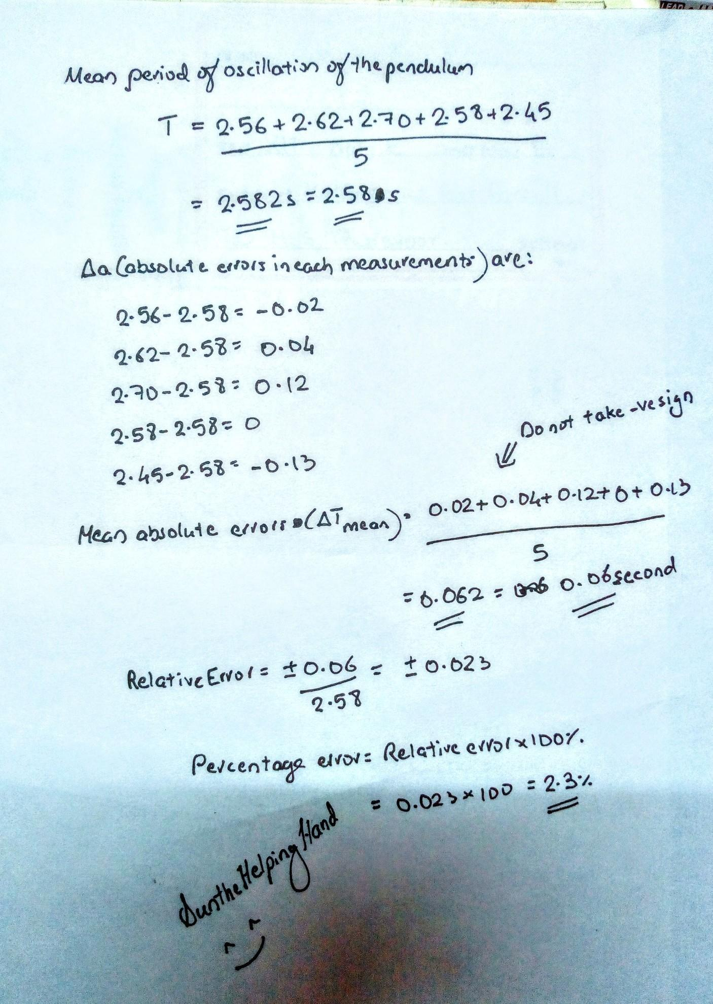 Ever 12 2 Pendulums Answers