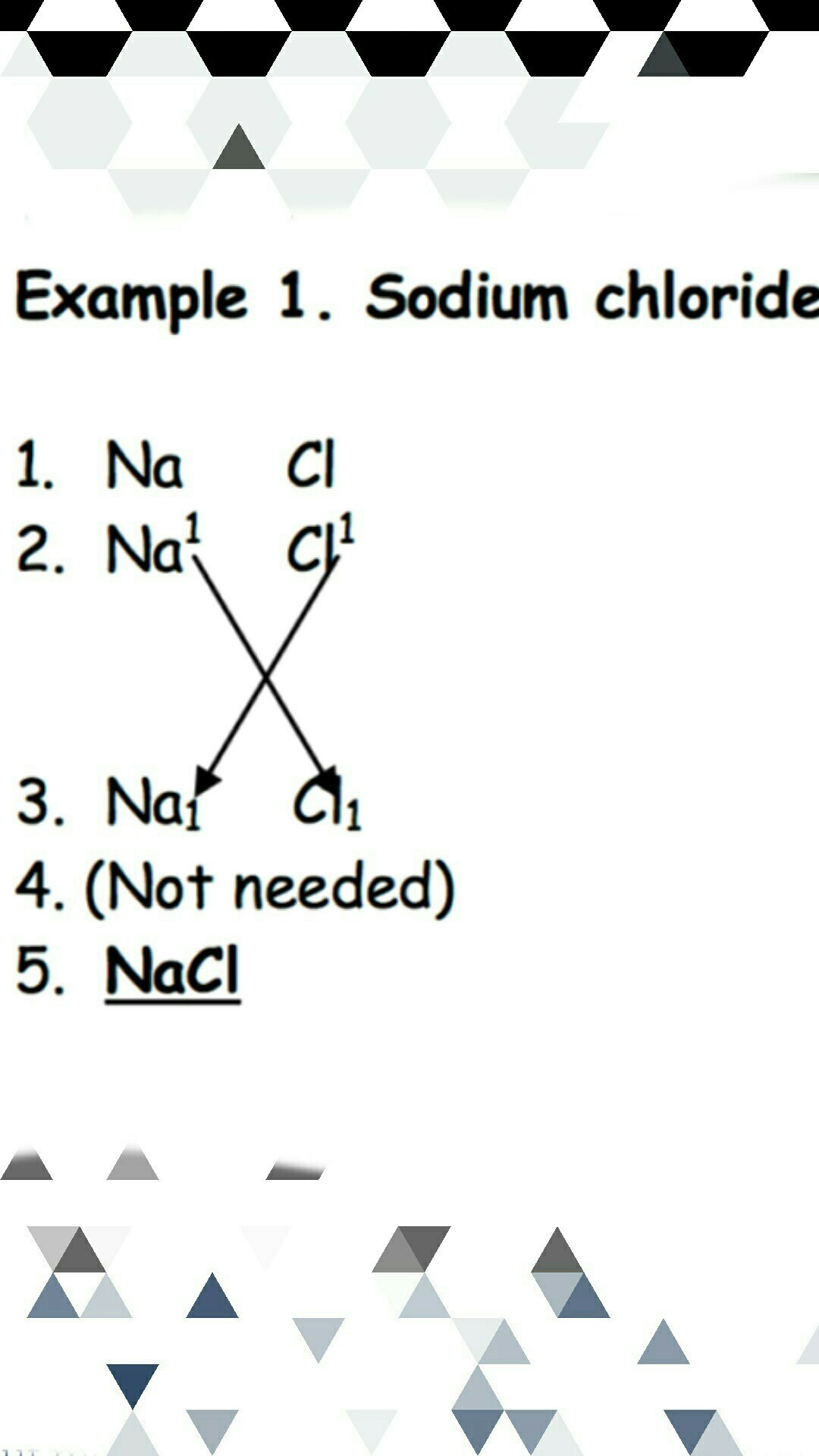Chemistry Questions How To Solve The Chemical Formulation
