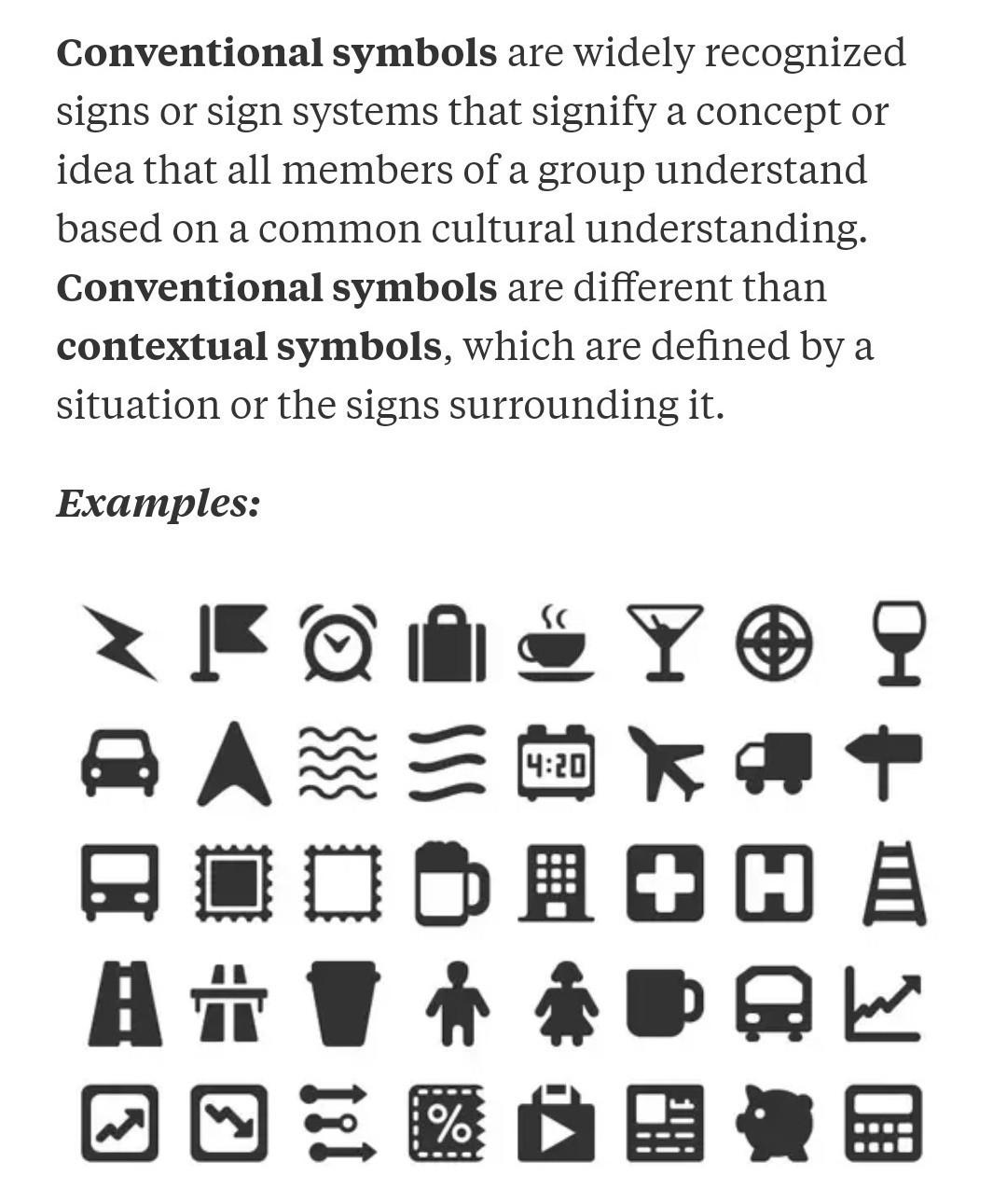 Define Contextual Symbol Elements Of Fiction Symbolism
