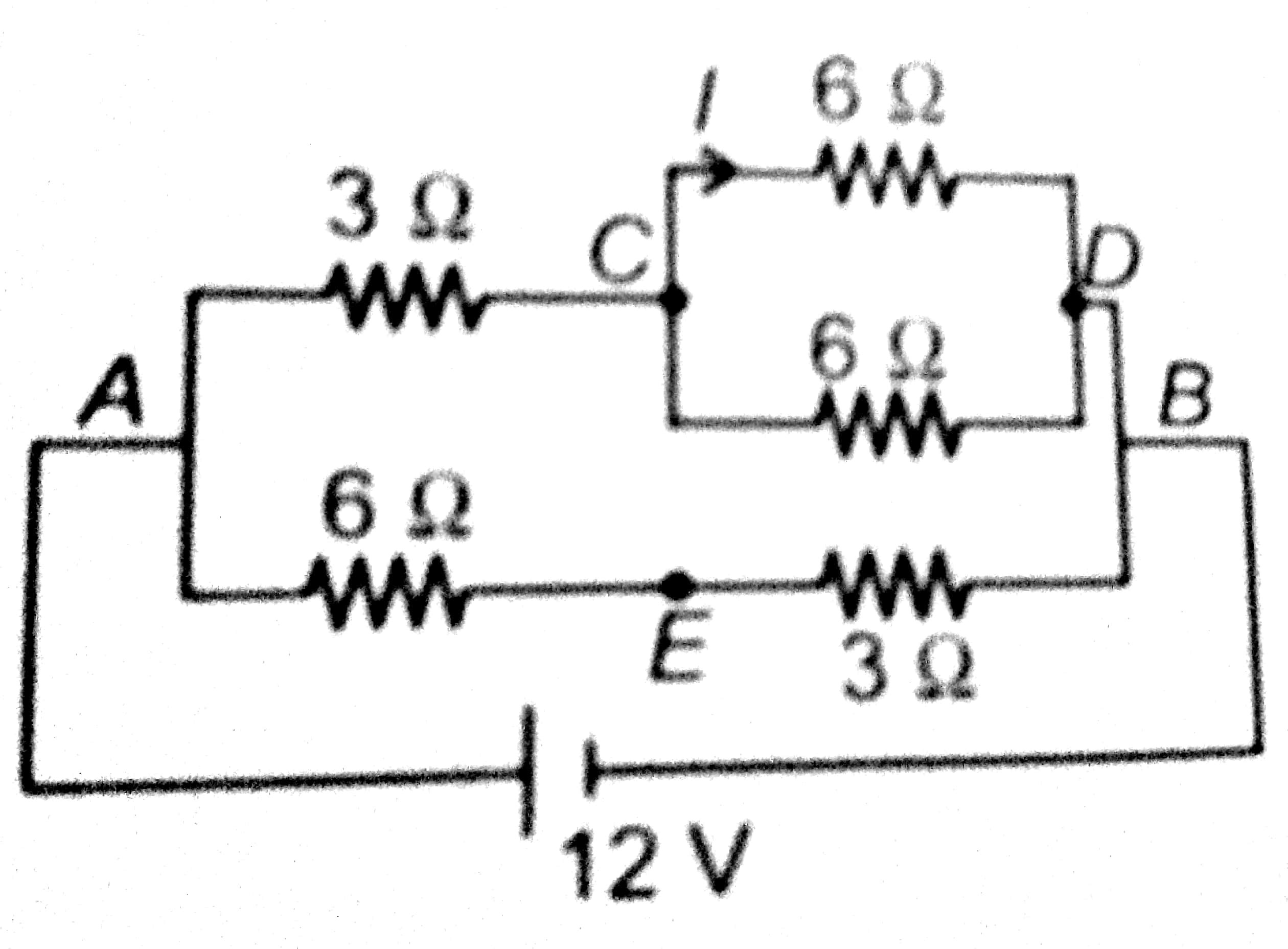 Find The Net Current I Flowing In The Branch Cd In The