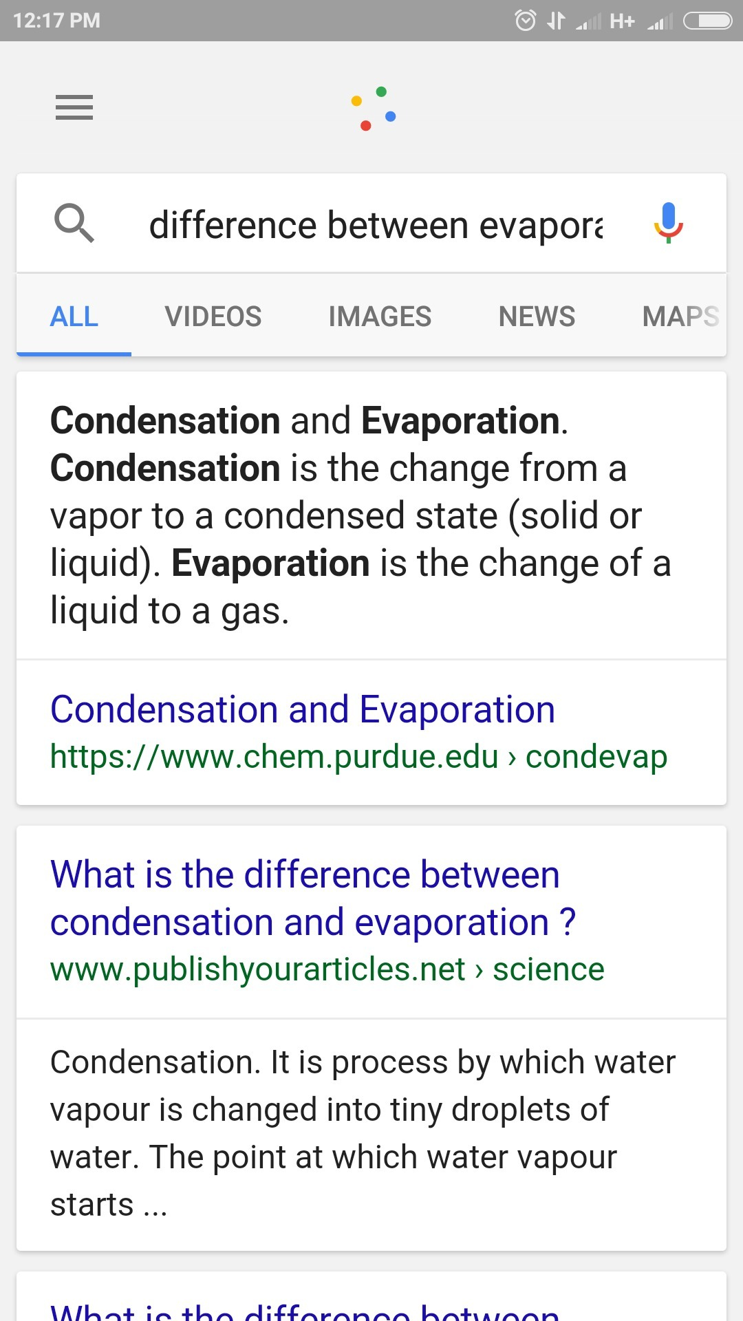 Differentiate Between Evaporation And Condensation