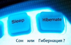 Режим гибернации или сон? Что лучше выбрать?
