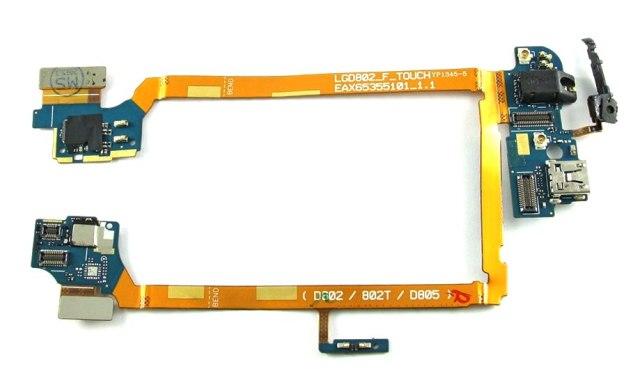 Шлейф на LG G2 D802 Выглядит вот так.