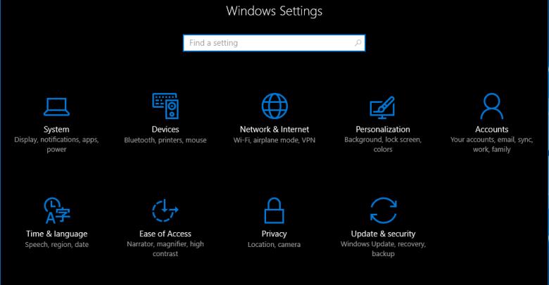 كيفية تشغيل ويندوز 10 الظلام الموضوع