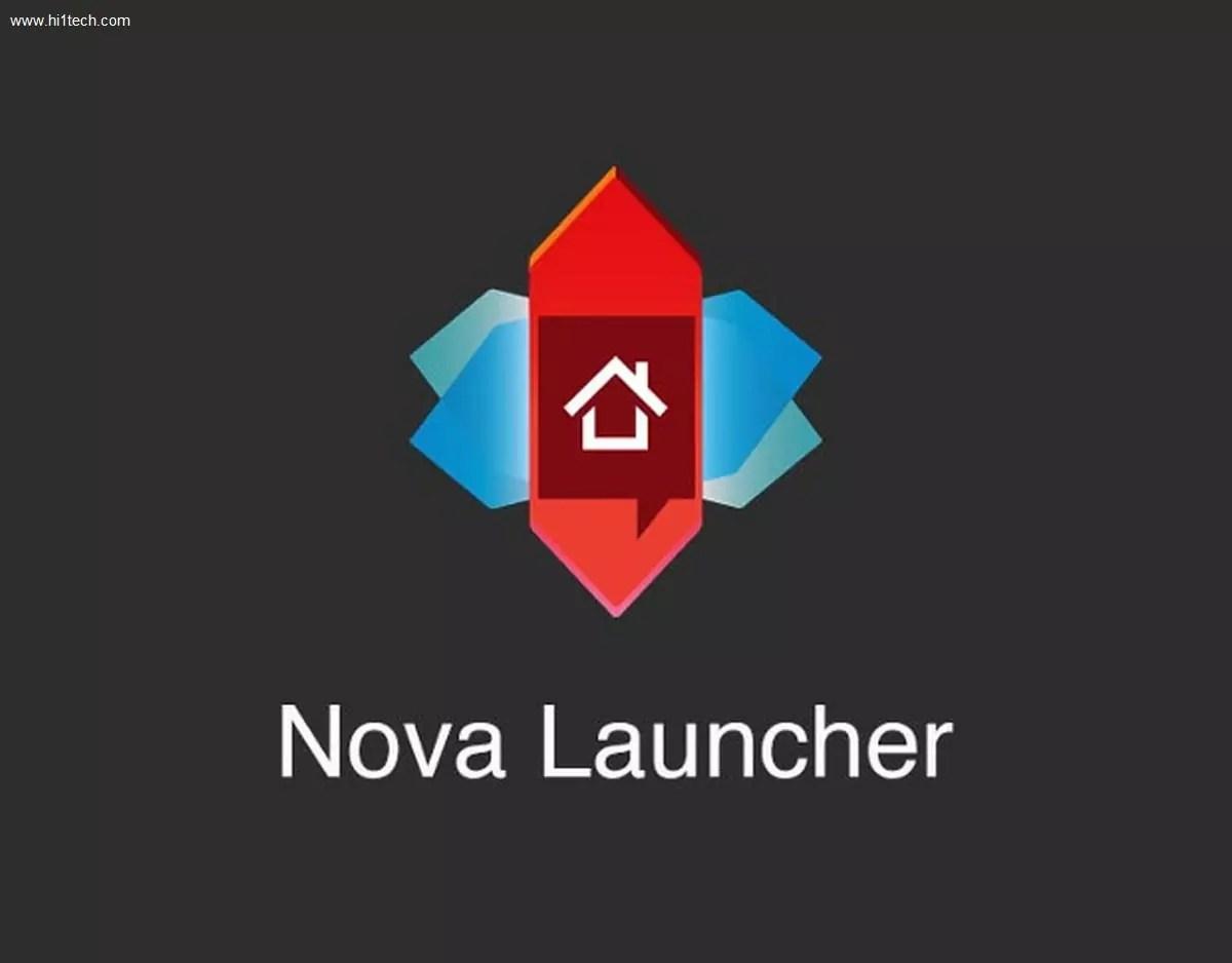 تطبيق أخفاء البرامج Nova Launcher